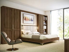 Tuscany Bedroom in Natural Walnut