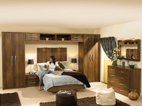 Roma Bedroom in Dark Walnut