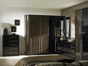 Venice Bedroom in HG Ebony & HG Black