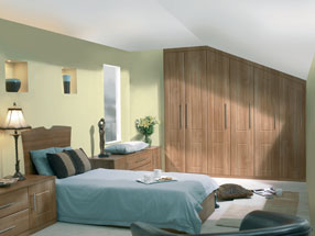 Surrey Bedroom in Light Walnut