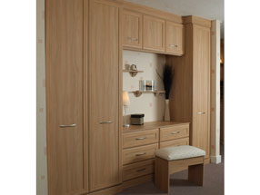 Mitred Type 2 Bedroom in Stilo Walnut