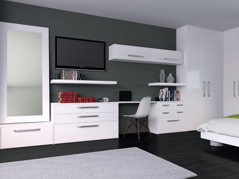 Venice Bedroom In Porcelain White