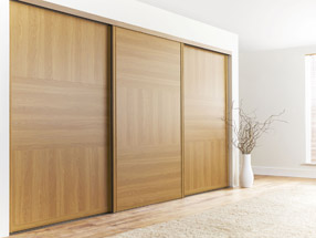 Oak Sliding Wardrobe Doors