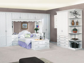 Milano Bedroom in Super White Ash
