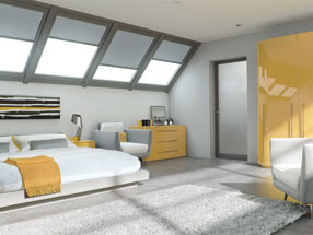 Acrylic Ultragloss Bedroom in Acrylic Saffron