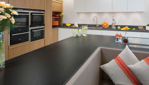Green Kitchen Worktops Uk