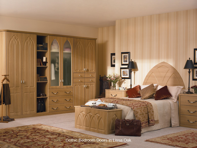 gothic replacement bedroom wardrobe door custom made. Black Bedroom Furniture Sets. Home Design Ideas