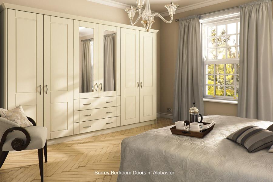 Surrey Replacement Bedroom Wardrobe Door Custom Made
