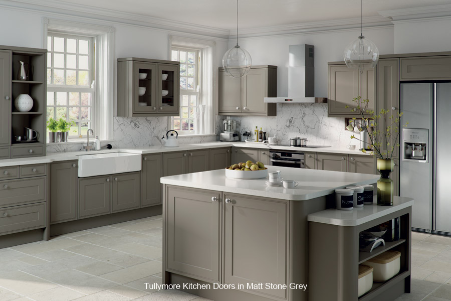 Tullymore replacement kitchen cupboard door custom made for Kitchen doors and more