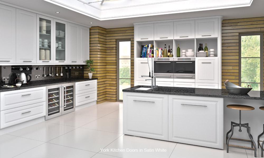 York Replacement Kitchen Cupboard Door Custom Made