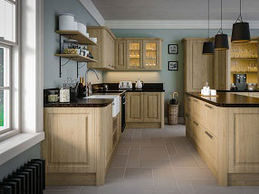 Tuscany Kitchen in Natural Oak