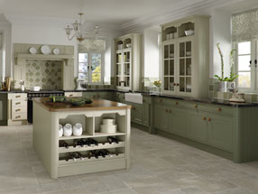 Tullymore Kitchen in Matt Mussel & Matt Olive