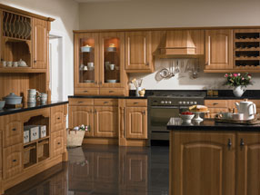 Verona Kitchen in Natural Rosewood