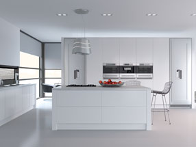 Venice Kitchen in Porcelain White