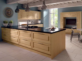 Tuscany Kitchen in Steinberg Beech