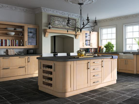 Shaker Kitchen in Swiss Pear