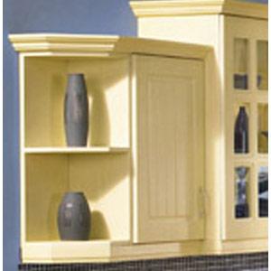 Shelf End Unit Wall Custom Made Kitchens