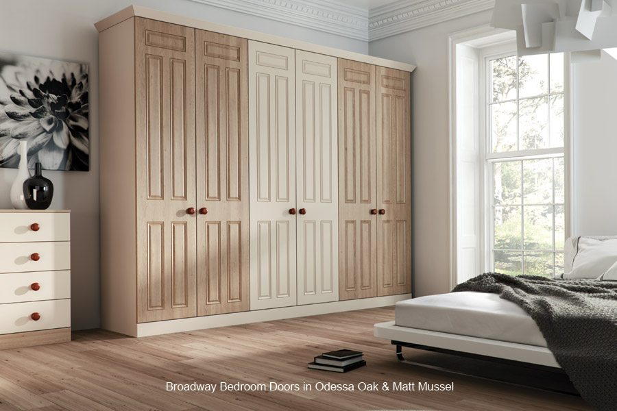 broadway - replacement bedroom cupboard door - custom made