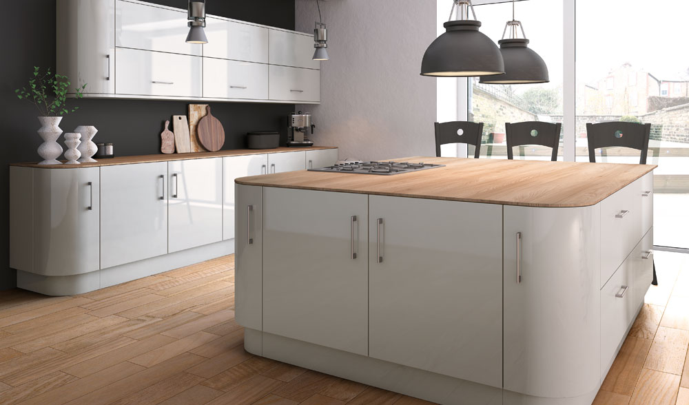 Made to measure kitchen doors and drawer fronts acrylic for Homestyle kitchen doors